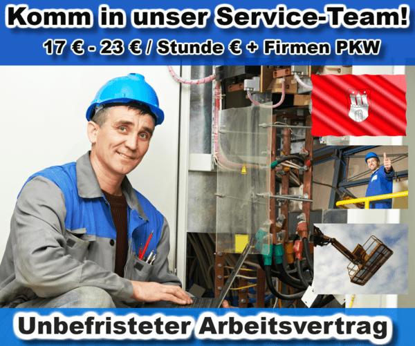 Hamburg Servicetechniker Elektriker
