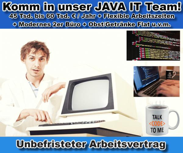 programmierer entwickler java