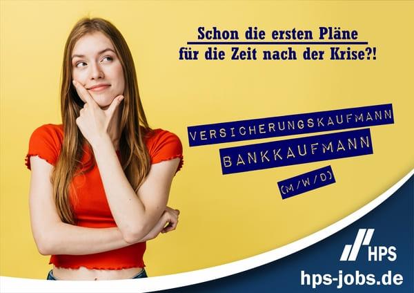 Ausbildung Bankkaufmann Versicherungskaufmann HPS GmbH