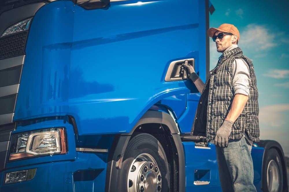 LKW Fahrer Kraftfahrer Berufskraftfahrer Stelle Job