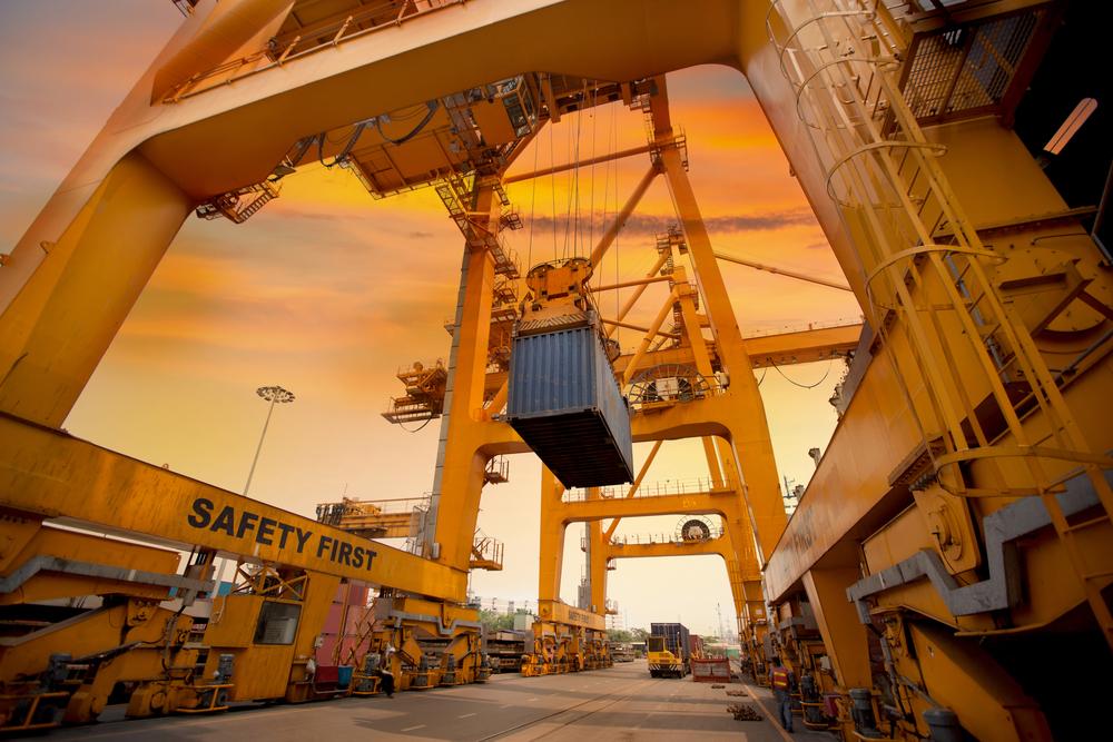 Seefracht Speditionskaufmann Containerhafen